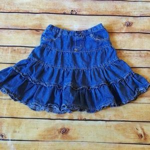 Girls Jean Skirt, The Childrens Place,  6X/7